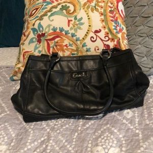 Coach Bags - Black leather COACH purse